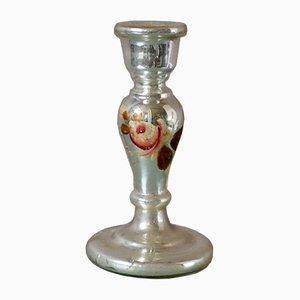 Französischer Kerzenhalter aus Glas, 1920er
