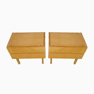 Tables de Chevet Mid-Century, 1960s, Set de 2
