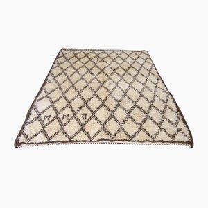 Marokkanischer Vintage Beni Ourain Teppich, 1950er