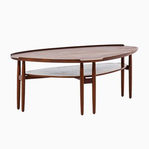 Danish Teak Coffee Table by Arne Vodder, 1950s