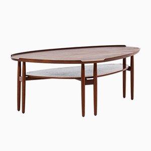 Table Basse en Teck par Arne Vodder, Danemark, 1950s