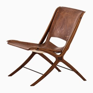 Chaise d'Appoint par Peter Hvidt & Orla Mølgaard-Nielsen, Danemark, 1950s
