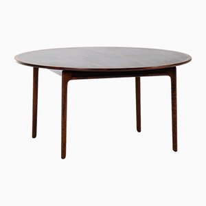Scandinavian Modern Danish Rosewood Coffee Table by Ole Wanscher for P. Jeppesens møbelfabrik , 1950s