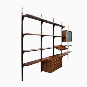 Modernes dänisches Bücherregal aus Palisander im skandinavischen Stil von Poul Cadovius, 1960er
