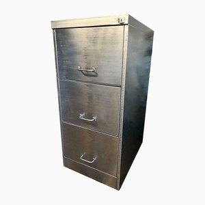 Vintage Industrial Steel Filing Cabinet, 1970s