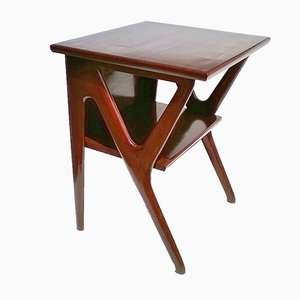 Large Italian Beech Console Table by Ico & Luisa Parisi for De Baggis, 1951