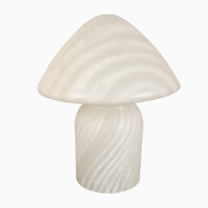 German Colored Glass Mushroom Table Lamp from Doria Leuchten, 1960s