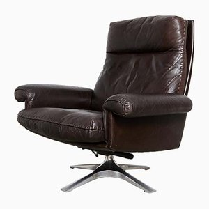 Cow Leather DS-31 Lounge Chair from de Sede, 1970s