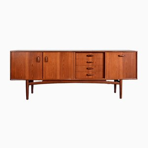 Mid-Century Afromosia & Teak Sideboard from G-Plan, 1960s