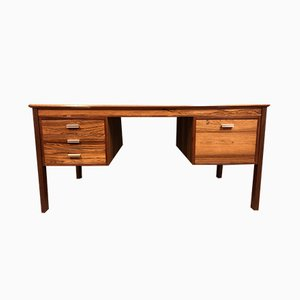 Moderner skandinavischer Schreibtisch aus Palisander, 1950er