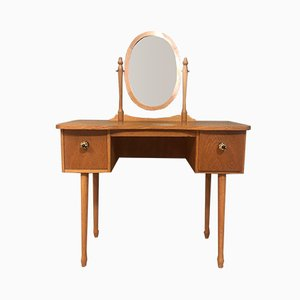 Mid-Century Wooden Dressing Table, 1950s