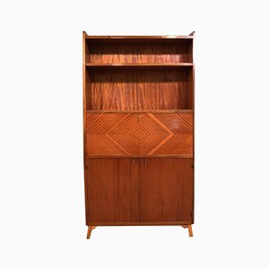 Scandinavian Wooden Secretaire, 1950s