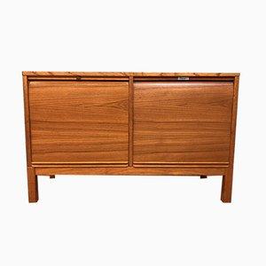 Mid-Century Scandinavian Wooden Sideboard, 1950s