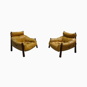 Model MP-81 Armchairs by Percival Lafer, 1958, Set of 2