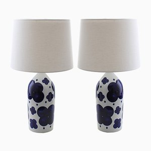 Scandinavian Modern Table Lamps by Marianne Westman for Rörstrand, 1960s, Set of 2