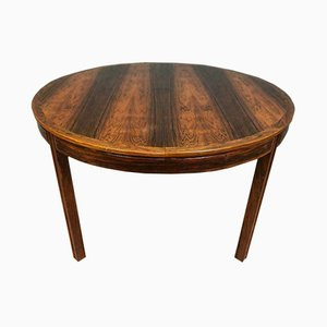 Rosewood Veneer Extendable Dining Table by Bertil Fridhagen for Bodafors, 1960s