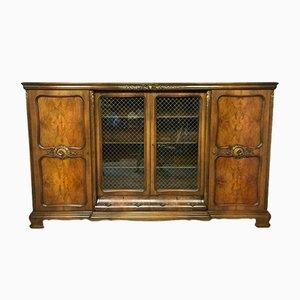 Vitrina vintage de madera, años 20