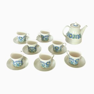 Tor Viking Coffee Set by Oliver Turi Gramstad for Figgjo Flint, 1960s