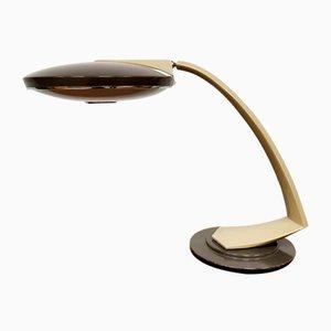 Tischlampe aus verchromtem Metall von Fase, 1960er