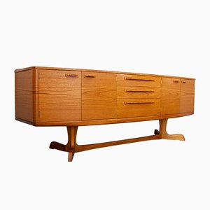 Mid-Century Teak Sideboard by Val Rossi for Beithcraft, 1960s