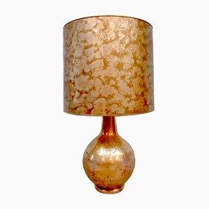Lámpara de mesa italiana Mid-Century de cerámica, años 60