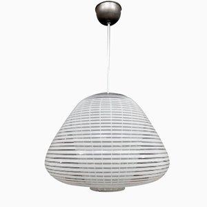Lámpara colgante de cristal de Murano de Wilhelm Wagenfeld para Peill & Putzler, años 60