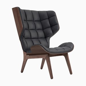 Dark Stained Dunes Anthracite Mammoth Chair by Rune Krojgaard & Knut Bendik Humlevik for NORR11