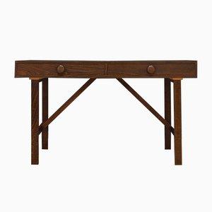 Vintage Danish Oak and Veneer Desk