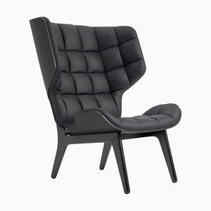 Black Oak & Anthracite Leather Mammoth Chair by Rune Krøjgaard & Knut Bendik Humlevik for Norr11