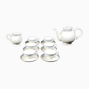 Juego de té Barbara de porcelana de Gio Ponti para Richard Ginori, años 30