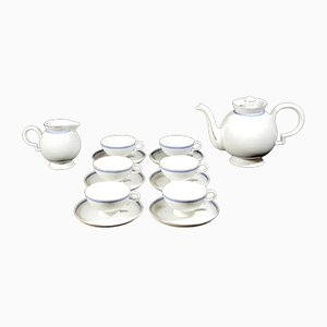 Porcelain Barbara Tea Set by Gio Ponti for Richard Ginori, 1930s