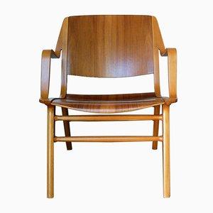 AX Lounge Chair by Peter Hvidt & Orla Mølgaard-Nielsen for Fritz Hansen, 1960s