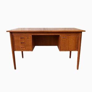 Dänischer Vintage Schreibtisch aus Teak von VI-MA Mobler