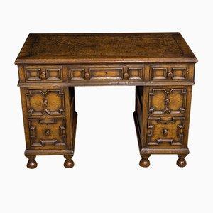 Kleiner Schreibtisch aus Eiche im jakobinischen Stil, 1930er