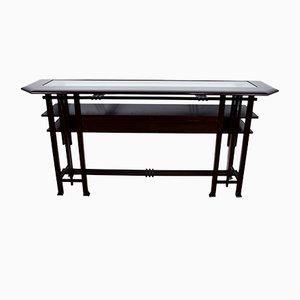 Vintage Italian Art Nouveau Style Console Table, 1970s