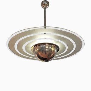 Lámpara de techo funcionalista de Leonard Beitler, años 20