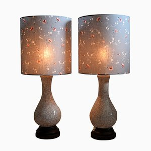 Ceramic Table Lamps by Pieter Groeneveldt, 1960s, Set of 2
