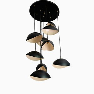 Mid-Century Italian Cascade Ceiling Lamp, 1950s