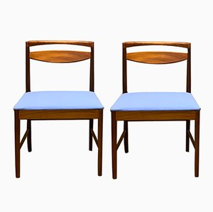 Mid-Century Teak Dining Chairs by Tom Robertson for McIntosh, 1960s, Set of 2