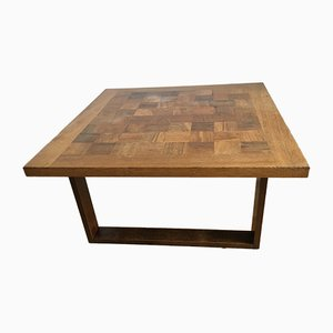 Rosewood & Teak Chessboard Coffee Table by Poul Cadovius for France & Søn, 1960s