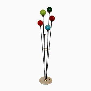 Italienische Alberello Stehlampe von Stilnovo, 1960er