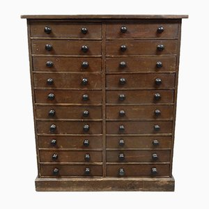 Antique Multi-Drawer Collector's Chest