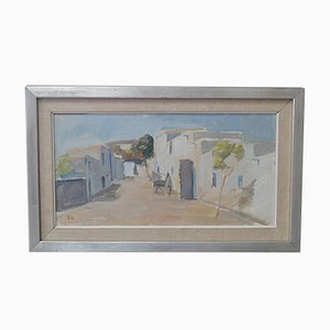 Paysage d'Ibiza par Tage Nilsson, 1956