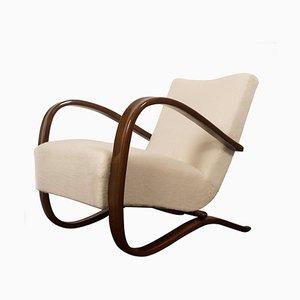 Art Deco H269 Sessel von Jindřich Halabala für Thonet, 1930er