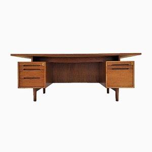 Französischer Mid-Century Schreibtisch aus Palisander, 1960er