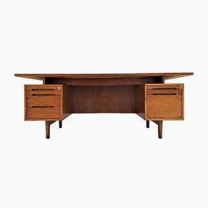 Mid-Century French Rosewood Desk, 1960s