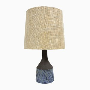 Danish Ceramic Table Lamp from Lovemose, 1960s