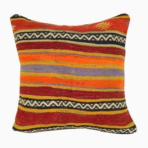 Großer bunter Kelim Sofakissenbezug von Vintage Pillow Store Contemporary