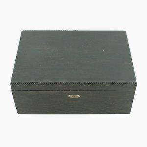 Vintage Kiste aus Buche, 1920er