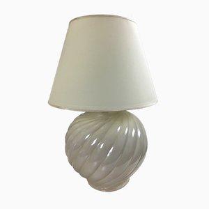Lámparas de mesa vintage de cerámica de Tommaso Barbi, años 70. Juego de 2